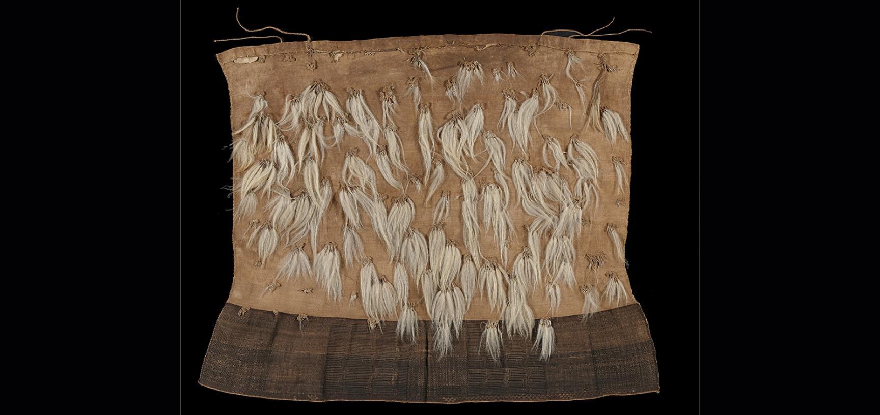 Dog hair cloak (1886.21.19)
