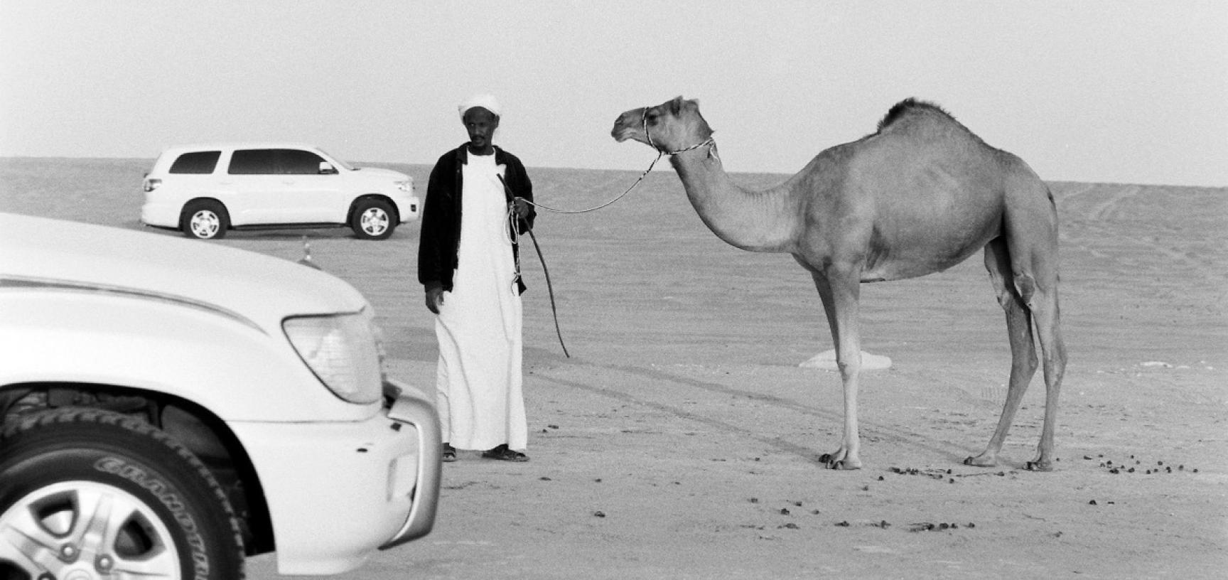 Sudanese camel trader. Abu Dhabi, United Arab Emirates. Photograph by Roger Chapman. 2012. (Copyright Roger Chapman)