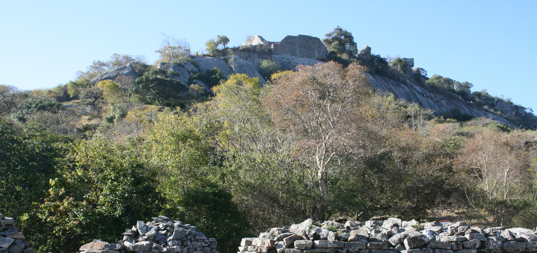 Walls at Great Zimbabwe
