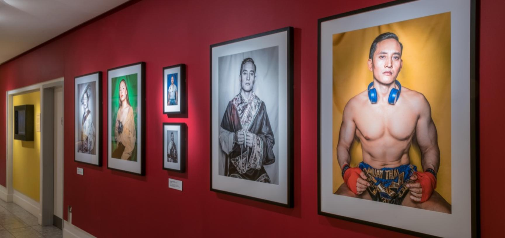 'Performing Tibetan Identities: Photographic Portraits by Nyema Droma', Pitt Rivers Museum, University of Oxford, 13 October 2018 to 30 May 2019. (Copyright Pitt Rivers Museum, University of Oxford)