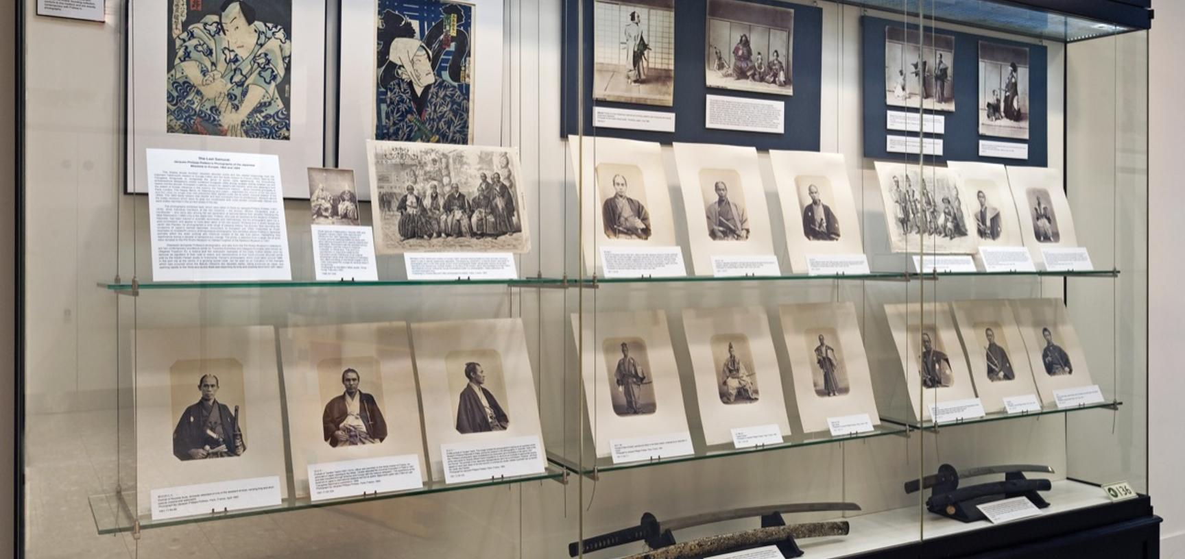 'The Last Samurai: Jacques-Philippe Potteau's Photographs of the Japanese Missions to Europe, 1862 and 1864', Pitt Rivers Museum, University of Oxford, 11 April to 18 September 2011. (Copyright Pitt Rivers Museum, University of Oxford)