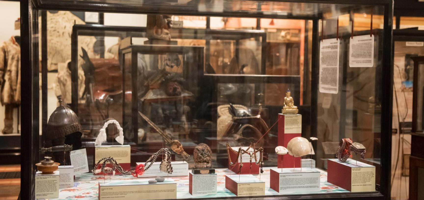 'Tibetan Objects in Transition', Pitt Rivers Museum, University of Oxford, 31 August 2018 to 25 January 2019.