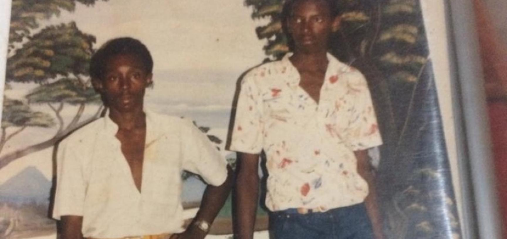 PHOTOGRAPH. Victims: Joseph Gatare and Bashire Pierre Niyoyita (brothers). Location: Kibungo, Birenga, Rwanda. Lender: Webare (nickname).