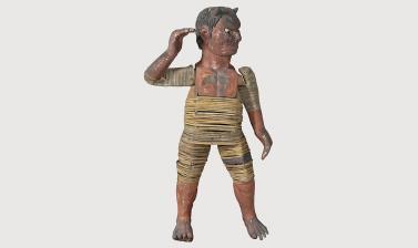 Body of oni figure (1964.1.2.1-4)