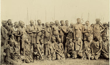 Group of Luo women, circa 1902