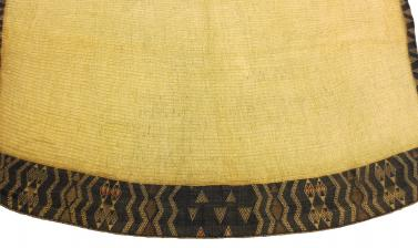 Detail of Māori cloak (1923.87.162)