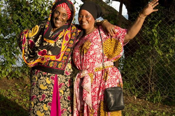 Bibi Salehe and Bi Fatima, importer/exporters, mentors of unyago and traditional medicines and Swahili behaviours Tanga 2019