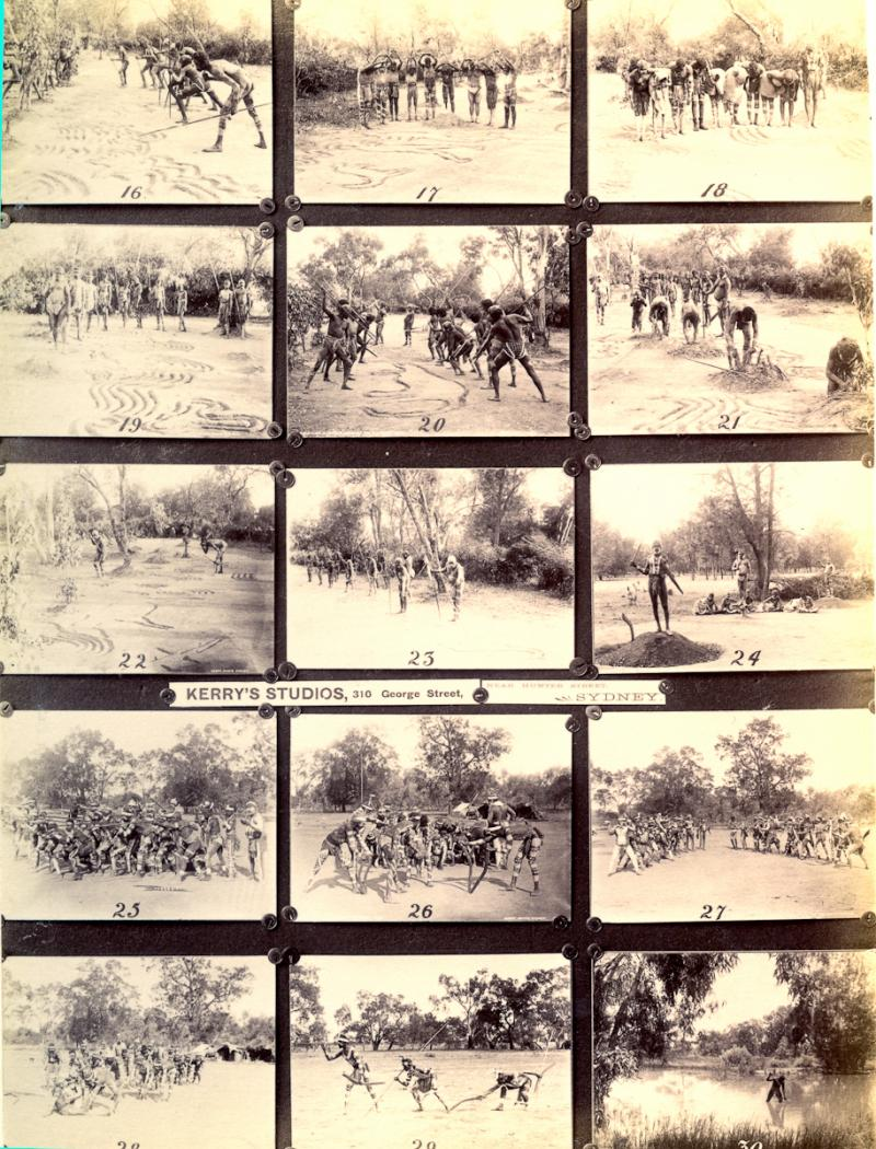 Prints showing images available from Kerry's studio, Sydney, 1898. PRM 1998.249.4.2