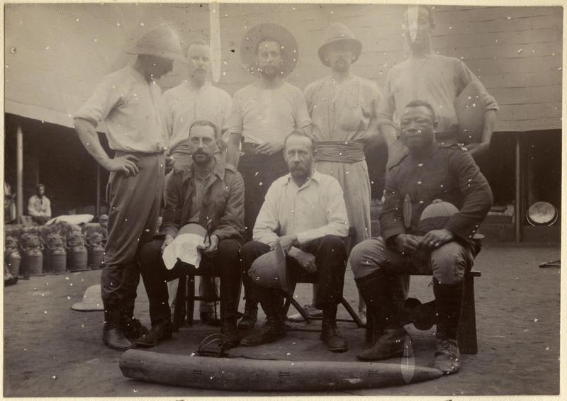 British soldiers in Benin City, 1897 [2019.32.2.54]
