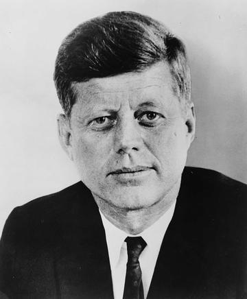 Portrait of John F Kennedy