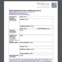 image reproduction licence publication