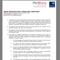 image reproduction terms and conditions